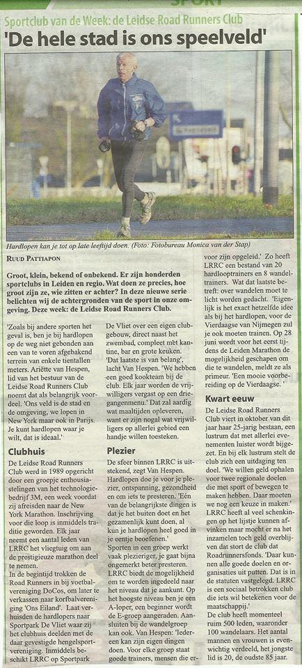 Witte Weekblad 19 februari 2014